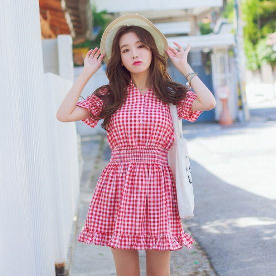 穿上这些小粉红连衣裙 还怕没男朋友?